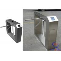 Security Waist Height Turnstile Barrier Gate For Access Control System Manufactures