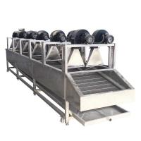 Continuous Fruit And Vegetable Processing Line Dehydrated Dried Equipment Manufactures