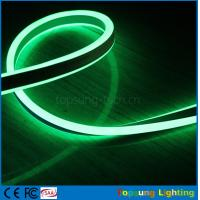 green high voltage 120v led double-sided flexible neon light 8.5*17mm light Manufactures