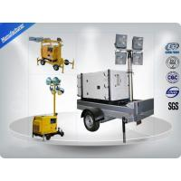Cooled Telescopic Light Tower / Manual Trailer