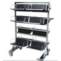 Vertical SMT Magazine Rack , ML-8604 ESD PCB Trays Carts For PCB Storage Manufactures