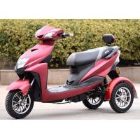 None Fall 3 Wheel Scooter Motorcycle 60v 800w Max Speed 50 - 60km / H Manufactures