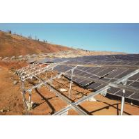 China Cold Rolled Solar PV Module Mounting Structure Easily Adaptable To Ground Mounting on sale