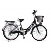48V Womens Hybrid City Lithium Bicycle , Electric Assisted Bicycle With Electric Motor Manufactures