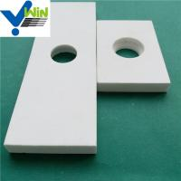 Different types of white alumina ceramic tiles free sample with great performance Manufactures