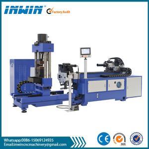 cnc copper rod(pipe) bending squashing machine Manufactures