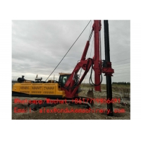 China SCREW PILE DRIVER FOR EXCAVATOR ROTARY BORED PILE DRILLING RIG on sale