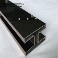 Brushed Finish Stainless Steel Trim Edge Trim Molding 201 304 316 ceiling wall Manufactures