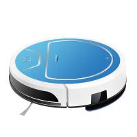 China Blue Automatic Floor Clening Robot , Smart Robot Floor Sweeper Auto Recharged on sale