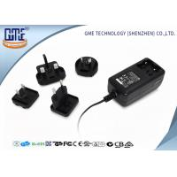 24 series EU / US / BS / AU Prong Interchangeable 12V 2A Universal Ac Dc switching power Adapter Manufactures