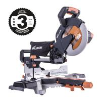 Quality Evolution Power Tools 15 Amp 10 in. TCT Multi-Material Cutting Sliding Miter Saw for sale
