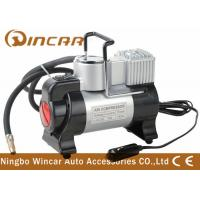 China 3 In 1 Metal Air Compressor With Flicker Light , 12v Tyre Inflator Air Pump on sale