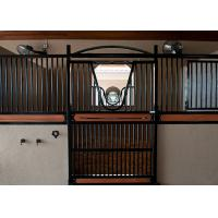 Swing Door Professional Horse Stall Fronts Durable Wooden Bamboo Material Manufactures