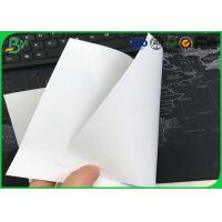 80gsm - 100gsm One Side Coated Paper , Food Grade C1S Art Paper For Adhesive Label Manufactures