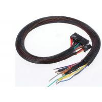 A/V / HDMI Cables PET Expandable Braided Sleeving Polyester Material ROHS Approval Manufactures