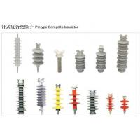 High Voltage Electrical composite pin insulator fpq  and Anti-pollution pin Polymer insulator Manufactures