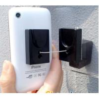 China COMER anti-theft cable lock devices cellphone pull box retractor display stands holders wall mounted on sale