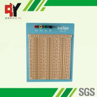 Reusable Big Brown Solderless Breadboard 2420 Points With Blue Plate Manufactures