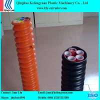 China COD(Corrugated Optic Duct) pipe making machine extruder manufacture on sale