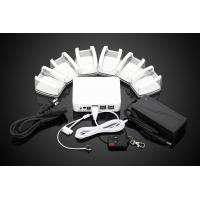 6 ports retail anti-theft security display alarm systems for cellphone tablet Manufactures