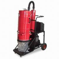 Industrial Dry Vacuum Cleaner with Trinal Filtration System and Pressure Gauge Manufactures