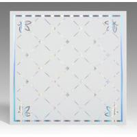 China Light Weight Fireproof PVC Ceiling Boards , Decorative Plastic Ceiling Tiles on sale
