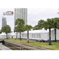 400 People Transparent Outdoor Party Tents For Trade Show And Warehouse Manufactures