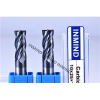 High Feed End Mill For Hardened Steel , Polish Surface High Speed Steel Cutter Manufactures