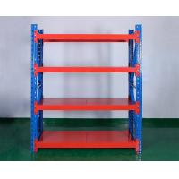 Quality Multi-Purpose Promotion Selling Metal Warehouse Factory Garage Storage Iron Stacking Light Duty Rack Shelves System for sale