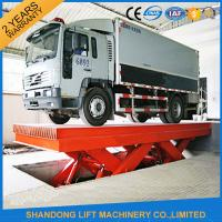 Quality Durable Hydraulic Scissor Car Parking Lift , Vehicle Scissor Lift With CE for sale