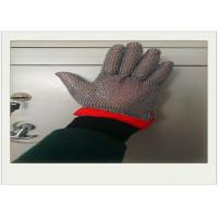 Five Fingers Stainless Steel Gloves With Cut Resistant For Cooking Manufactures