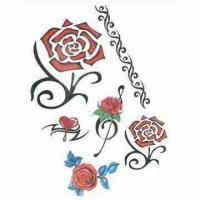 Temporary tattoo sticker, water transfer, fashionable design Manufactures