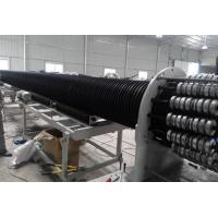 Large Diameter Hollow Wall Winding Hdpe Pipe Extrusion MachineProduction Line Manufactures