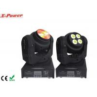 Double Face 4*10W Wash with 1*10W Beam LED Moving Head Light   X-87A