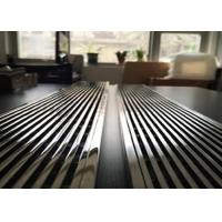 China Anti Theft Stainless Steel Strip Drain , Linear Floor Drains Beautiful Appearance on sale