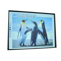 China 80 inch multi touch electronic interactive whiteboard 80MT with aluminum honeycomby board on sale
