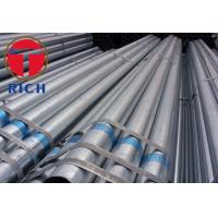 ASTM A53 A106 GI Carbon Steel Pipe Galvanized Tube for Water and Gas tube Manufactures