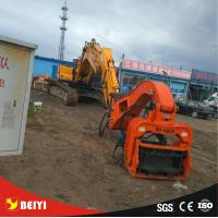 China Hydraulic wet land, soft land excavator piledriver , pile extractor, steel pipe pile machine , Model: BYVH330 on sale