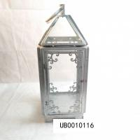 China Candle Shape Metal Waterproof LED Solar Lantern Light Rechargeable For Patio Courtyard Garden on sale