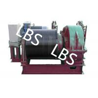 Buy cheap Electric Winding Hoist Wrie Rope Electric Marine Winch Lifting Capacity 10T , 30T from wholesalers