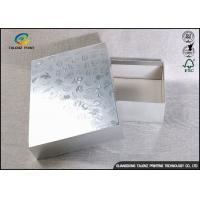China Folding Herbal Cardboard Packing Boxes , Mask Product Cosmetic Gift Box on sale