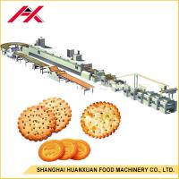 Small Biscuit Making Machine , Automatic Biscuit Production Line One Year Warranty Manufactures