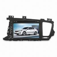 China 2-DIN In-dash Car DVD Player for KIA-K5, with 8.0-inch TFT LCD Touchscreen and 4 x 45W Power Output on sale