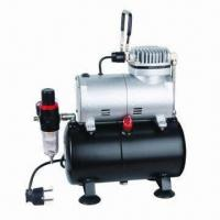 1/6hp Air Compressor for Air Brush/Spray Gun, Auto-stop/Low Noise/Portable/Lightweight/Over Pressure Manufactures