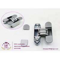180 degree zinc alloy 3D adjustable concealed gate hinges heavy duty hinges for heavy doors Manufactures