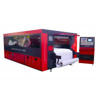 Co2 300W Laser Cutting Printing Machine Auto Feeding / Typesetting With Air Filter Manufactures
