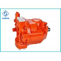 Red Color Variable Hydraulic Axial Piston Pump For Forestry Machinery Manufactures