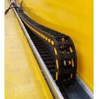Flexible Crane Components Plastic Energy Drag Cable Chain For Festoon System Manufactures