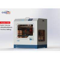 F430 1.75mm High Accuracy 3d Printer Large Build Volume With Glass Ceramic Panel Manufactures