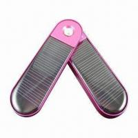 Solar Mobile Phone Charger with 5.5V Output Voltage, Comes in Various Colors Manufactures